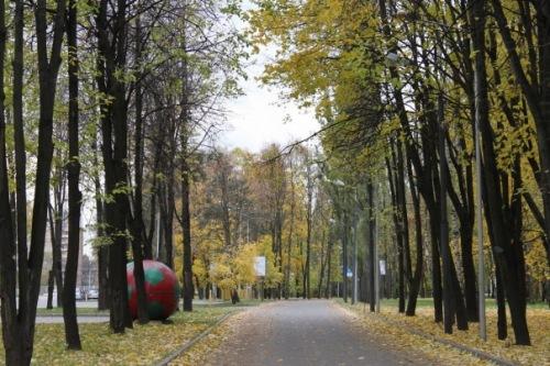 Золотая осень.)