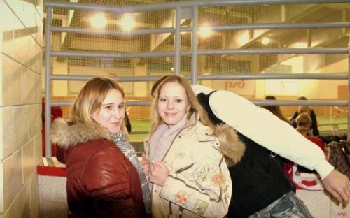Я,Настька и Ваня,он не влез,это в Локо спорт.)