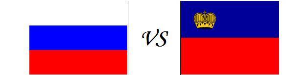 Россия - Лихтенштейн