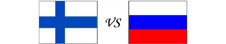 Финляндия - Россия.