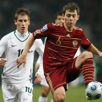 Футболисты сборной России обвиняются в преднамеренной сдаче игры против Словении. Фото: Reuters