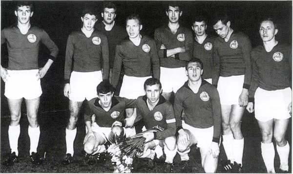 День в истории «Локомотива» - 26 декабря. Успешное турне по ФРГ 1966 года