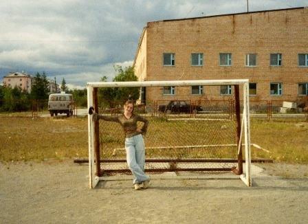 Правда я хорошо смотрюсь в воротах?))