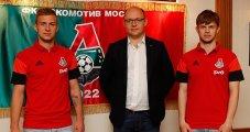 Баринов и Галаджан подписали новые соглашения с «Локо» (видео)